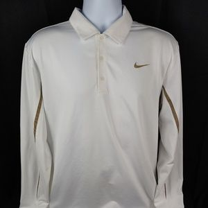 Nike Golf Fit Dry Long Sleeve Polo Size XL